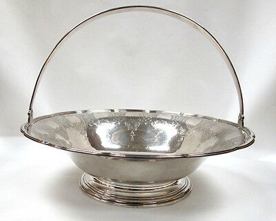 Vintage 1920's Tiffany & Co. Sterling Silver Basket In Lovely Condition!