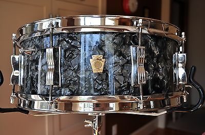 Ludwig Black Diamond Pearl Jazz Festival Snare #55831 NICKEL COLLECTOR +