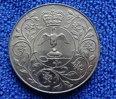 Crown Coin - 1977 To Commemorate The Silver Jubilee Of Hm Queen Elizabeth Ii