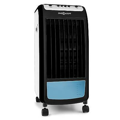 AIR COOLER ONECONCEPT Caribbean Blue FAN ROOM REFRESH WATER TANK 70W WHITE BLACK