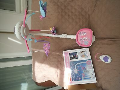 fisher price pink petals mobile with remote