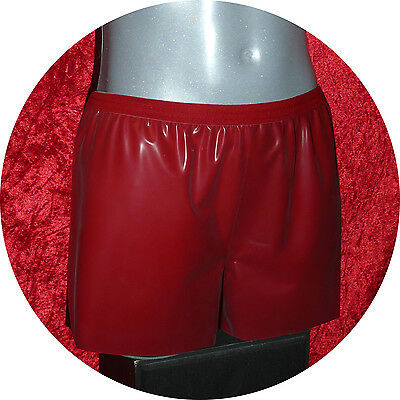 Latex Boxer Shorts  rot