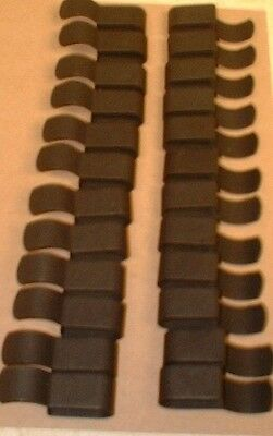 25 Pc Trailer Frame Clips Mize FC38.S Attaches Wiring to Frame