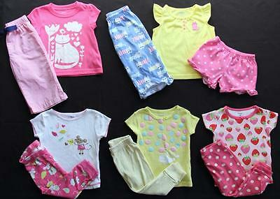 Girl 12 Months Spring Summer Pajama Sets Clothes Lot Free Ship