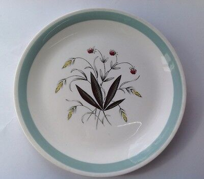 Alfred Meakin Crown Goldendale Dinner Plate Hedgerow Pattern 1950s