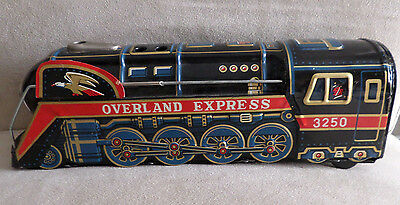 Latta  Treno Overland Express 3250 Tm Modern Toys Made In Japan