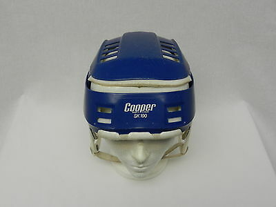 VERY RARE VINTAGE BLUE COOPER SK100 Helmet Senior Hockey Hurling skateboard