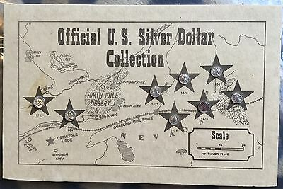 100th anniversary silver dollar collection-Historic Providence Mint- COA-8 coins