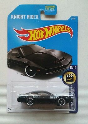 Knight Rider K.I.T.T Car by HotWheels new in packet