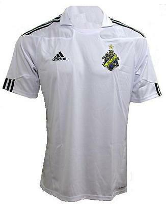 ADIDAS HOMMES MAILLOT A.I.K. 1891 SUÈDE NEUF Gr. L / 54 BLANC HAUT
