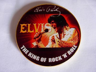Elvis Presley Commemorative gold Coin. 40th Anniversary . Low Start. The King 2
