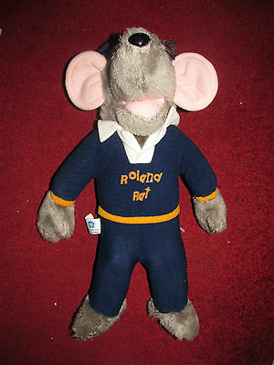 Roland Rat Hasbro 1980's Official Licensed Soft Toy - Excellent Condition