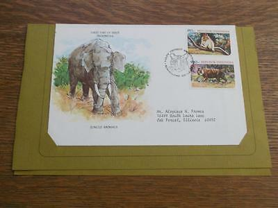 Indonesia 1977 Cover Fdc To Usa   Rs