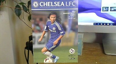 CHELSEA LADIES  V   MANCHESTER CITY  LADIES, played  20/7/14