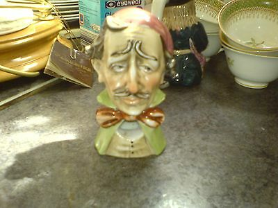 """Capodimonte - Smoking Ears Bust - Cappe? 4 1/2"""" - See Scans"""