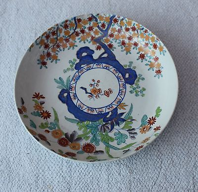 ANTIQUE SPODE STONE CHINA Shallow Bowl Chinese Pattern N0. 2117 C.1813-22