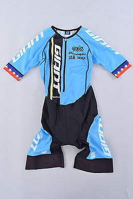Giant Bicycle Team Pro Issue National Champion Cycling Speedsuit Men's Medium