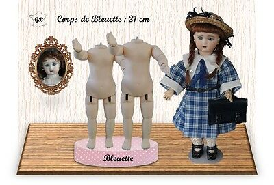 "SET of 2 DOLL BODIES for BLEUETTE or 11"" doll - Height : 21cm - DISCOUNT 10%"