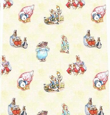 3 sheets of Dolls House Wallpaper 1/12th scale Cream Nursery Quality Paper #134