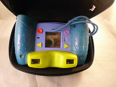 2007 Fisher Price KidTough Waterproof Digital Camera Blue Previously Owned Works