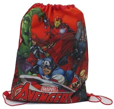 Marvel Avengers Drawstring Gym Bag