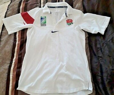 England 2007 World Cup Rugby Shirt Jersey - Adult M *Nike*