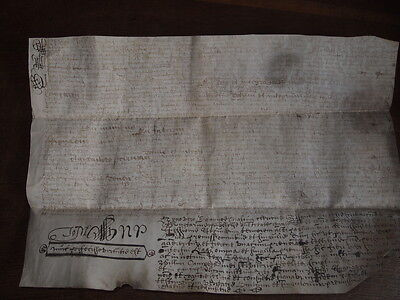 1669 Vellum Document - Latin - Adam Davidson William Chalmers