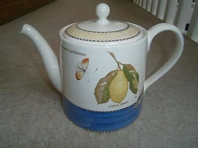Superb Wedgwood Sarah's Garden Large 2.5 Pint Teapot Wonderful Barely Used Cond