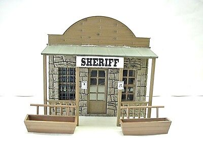 Piko G Scale Sheriff's Small Stone Jail Western Town Model Train Building #62225