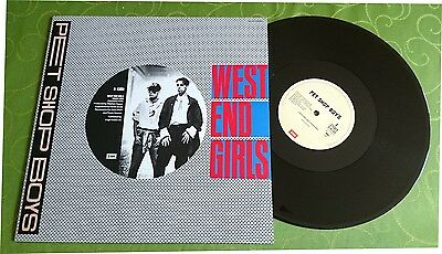 "12"" Pet Shop Boys – West End Girls (Japan)"