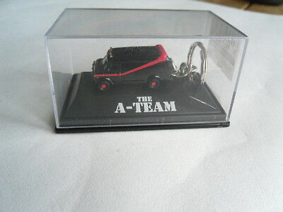 New MR T : THE A TEAM : CHEVROLET BLACK VAN - 3D KEYRING KEY RING : ULTRA RARE