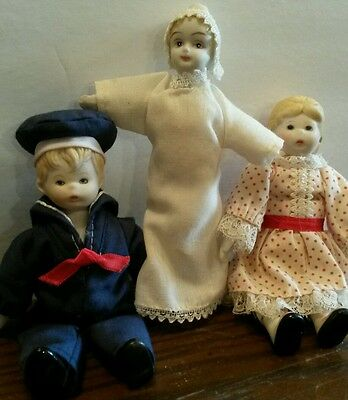 Miniature Porcelain dolls