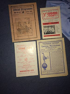 tottenham/spurs v coventry 1936-7
