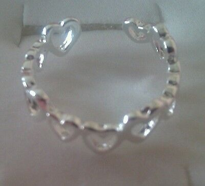 UK SELLER! 'Exquisite Toe Ring' silver (new and sealed)