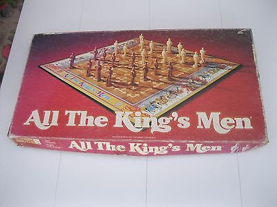 All The Kings Men Rare Vintage Board Game