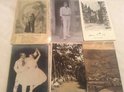 51 Black & White Postcards With Stamps Over 100 Yrs Old