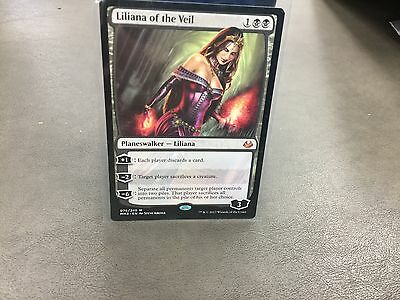 1x LILIANA OF THE VEIL PLANESWALKER CARD FROM 2017 MODERN MASTERS SET-NM-MT