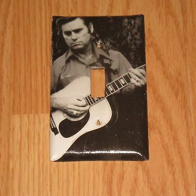 GEORGE JONES COUNTRY MUSIC LEGEND Light Switch Cover Plate