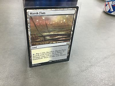 1x MARSH FLATS LAND CARD FROM 2017 MODERN MASTERS SET-NM-MT