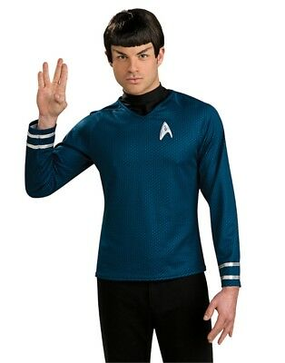 New Adult Star Trek Into Darkness Spock Costume Accessory Vulcan Wig