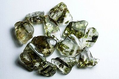 GemsVillage 103 Ct.  Beauty LOT with defined crystal of Epidote into Quartz.