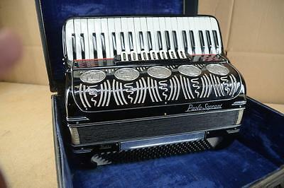 Paolo Soprani Italia Accordion with Case - Made in Italy