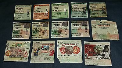 Charity Shield Tickets 1976-2015 (UPDATED)