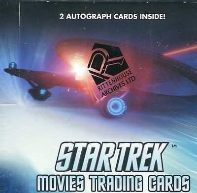 Star Trek 2014 Movies - Sealed Trading Card Box