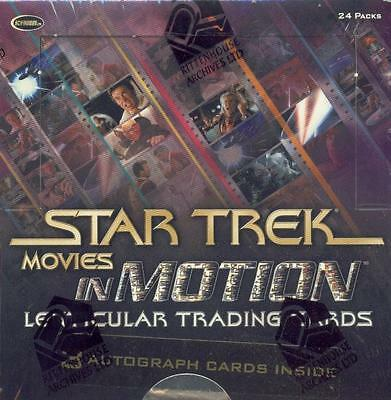 Star Trek Movies In Motion Sealed Box - Lenticular Cards
