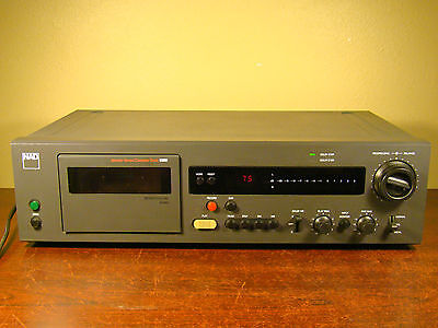 NAD 6300 MONITOR SERIES CASSETTE TAPE DECK PLAYER RECORDER DOLBY *Made in Japan*