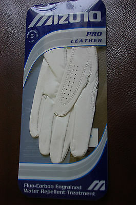 MIZUNO PRO LEATHER GOLF GLOVE - small ladies left hand, all weather - NEW
