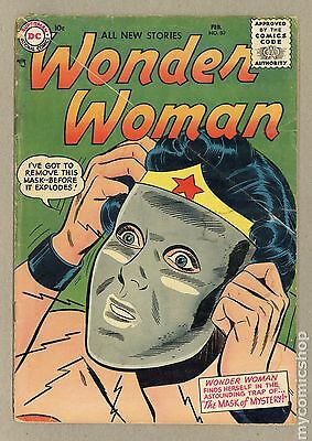 Wonder Woman (1942-1986 1st Series DC) #80 FR/GD 1.5