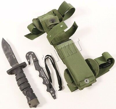 Ontario Knife Company ASEK Survival Knife System Carbon Steel 1400 OD Green