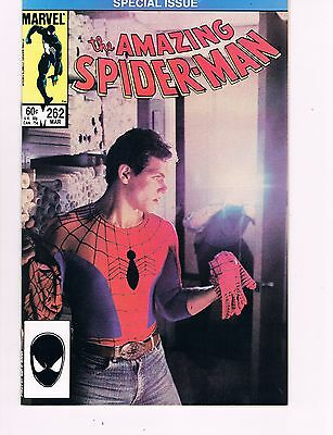 Amazing Spider-Man #262 (1985 Marvel) Only Photo Cover In The 700 Issue Run